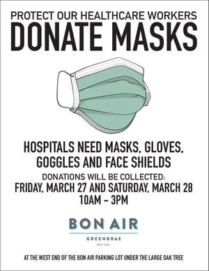 donate masks