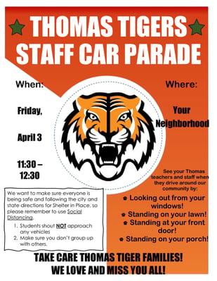 staff parade